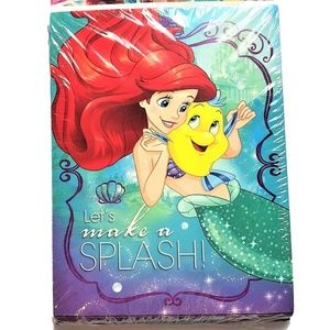Ariel The Little Mermaid Party Invitations New